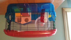 Creature  trial  hamsters cage
