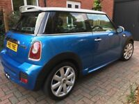 Mini Cooper S 1.6 (56 plate) only 63k miles with John Cooper Works Bodykit **SUPERB CONDITION**