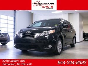 2014 Toyota Sienna Limited XLE, AWD, REMOTE STARTER, Navigation,