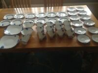 For Sale 41Piece Shelley tea set