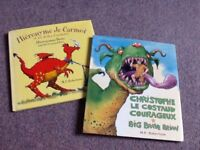 Bi lingual English/French books for young children learning French