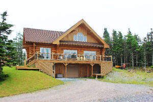 NEW PRICE CUSTOM BUILT LOG HOME IN MAHERS MLS 1160184 $499,900