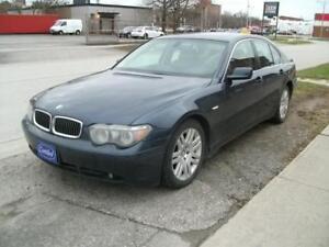 2004 BMW 7 SERIES 745i * EXECUTIVE PACKAGE NAVIGATION LOADED !!!