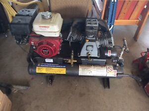 Twin Tank Wheelbarrow air compressor
