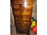 Antique Chest with 6 Drawers