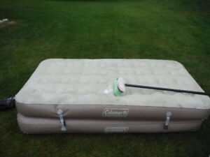 Coleman Inflatable double mattress