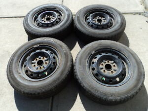 4 Motomaster Tires with Rims for 1992-2001 Toyota Camry