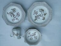 Royal Staffordshire Innocence ironstone tableware. Dishwasher safe.