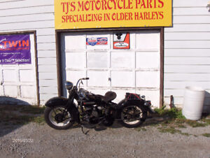 Harley 45 Flathead Parts..Aftermarket and Some NOS