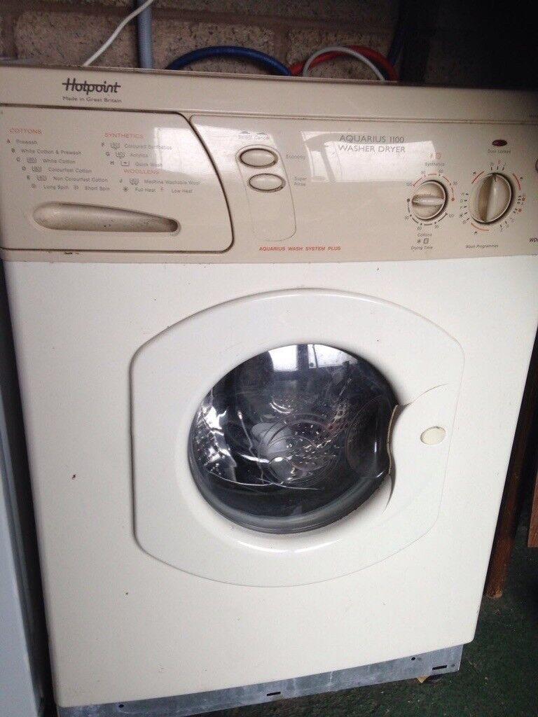 Hot point washer/dryer