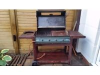 BBQ Factory Gas Barbecue (4 burners) with hard cover