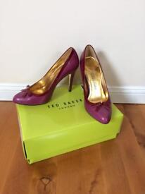 Ted Baker Maery Purple/Red high heels. Size 5 (38)