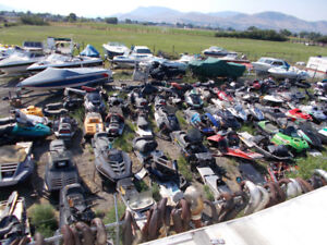Snowmobile Wrecking Yard!