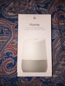 New never opened Google home speaker