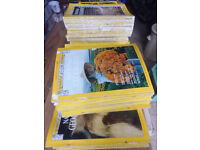 national geographic vintage magazines