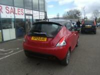 CHRYSLER YPSILON 1.2 BLACK AND RED 5d 69 BHP (red) 2013