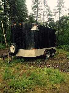 8'x10' home built certified enclosed trailer