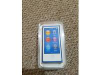 iPod nano 7th Generation Brand New and Sealed in blue colour