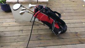 Children's Golf Bag + 5 Clubs + 30 Balls