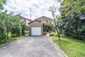 3 + 1 Bedrooms with walk out basement