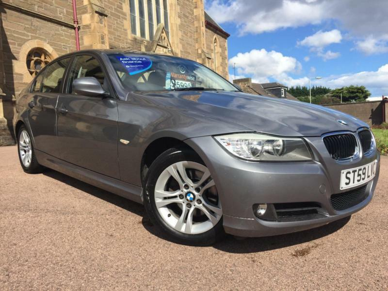 *12 MTHS WARRANTY*2009(59)BMW 318 2.0 DIESEL ES 4DR WITH FULL SERVICE RECORD*