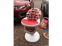 Cosatto 3sixti Highchair in Cherry Red