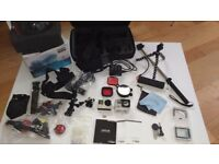 GoPro Hero 4silver scuba diving kit