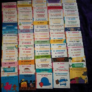 Lot 110 livres de Monsieur Madame