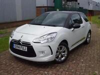 2014 Citroen DS3 1.2 VTi DSign Plus 3 door Petrol Hatchback
