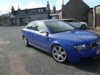 *** AUDI S4 QUATTRO 4X4 MOT APRIL 18 NO ADVISORYS MOSTLY FSH LOTS HISTORY WELL LOOKED AFTER CAR