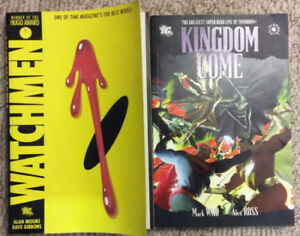 2 Graphic Novels! Kingdom Come and The Watchmen!