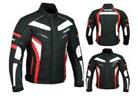 Waterproof Motorbike Suit, CE Approved Jacket Trouser Boots Gloves