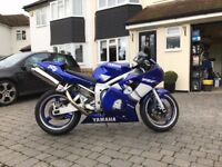 Yamaha R6, Low Mileage, Excellent Condition, 'R6 XUP' Private Plate, Recent MOT