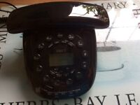 Landline phone and answer machine