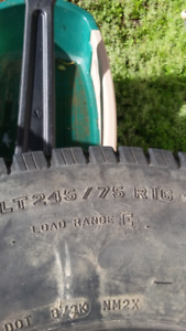 4 Michelin lt245/75r16 10ply