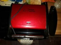 George forman grill red