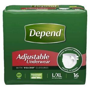 Depend Adjustable Underwear Maximum Absorbency