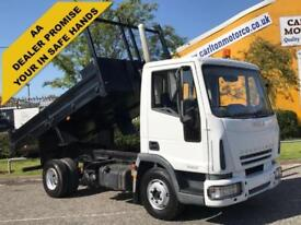 Iveco Eurocargo 75e17 Day Tipper+ Tool box 13.ft D/Sided Low Mileage 4x2