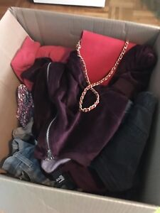 Box of young women's clothes (xs, sm)