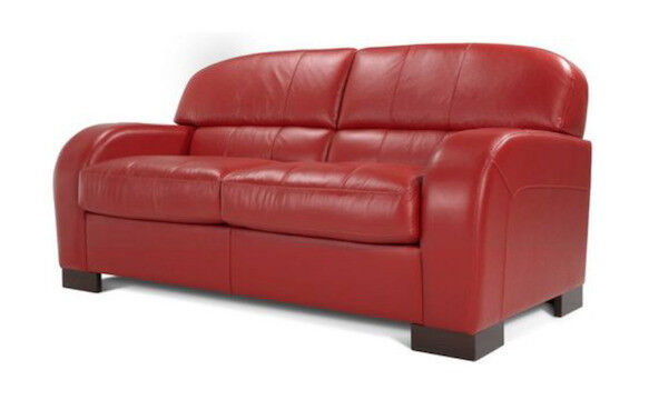 Dfs Blaze Leather 3 Seater Delux Double Sofa Bed