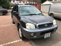 2004 Hyundai Santa Fe 2.0 CRTD GSi Station Wagon 5dr 2.0L Automatic @07445775115@