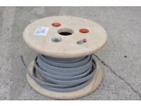 11.5 m length of 10 mm sq Twin & Earth Electric Mains Cable on Wooden Drum - Unused