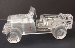 MAGIC CRYSTAL CAR Figurine (Frosted Interior) ~ AS NEW ~ $35.00
