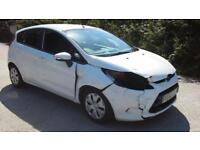 2011 Ford Fiesta 1.6TDCi ( 95ps ) DPF Econetic DAMAGED SPARES OR REPAIR SALVAGE