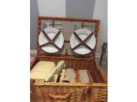 John Lewis picnic basket / hamper