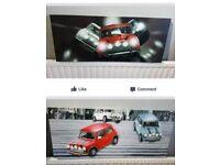 Canvas car pictures