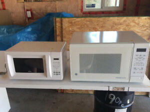Two microwaves