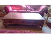 Large Bespoke Wood Coffee Table