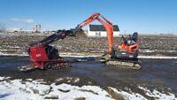 Service the mini excavation a partir de 60$ heure, pavi unis-