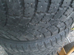 4---225/60R16 Nokians on Core Racing Alloys